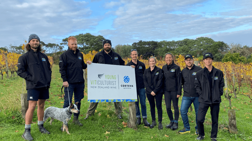 Regional winners of Young Viticulturist Competition
