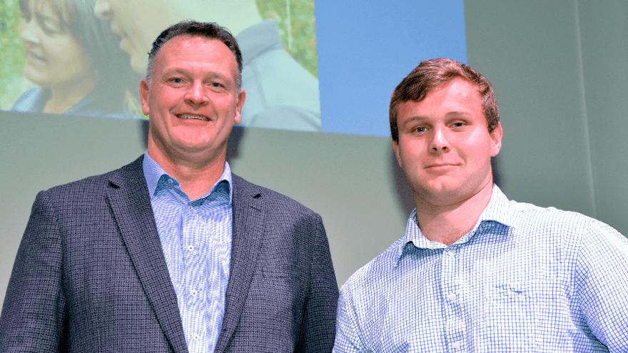 Scholarship winner's keen involvement in horticulture