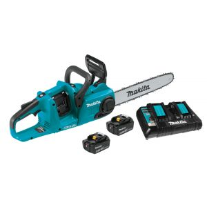 Makita Chainsaw 36 V, 5.0 Ah Brushless Promo Pack