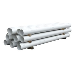 RX Plastics Culvert Pipe with Solvent Joint 6m
