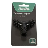 Wetta Three End Hose Coupler 12 mm