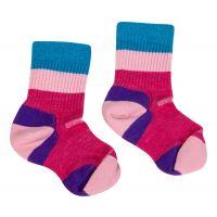 Point6 Block Stripe Kids Socks