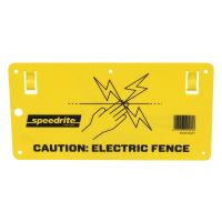 Speedrite Electric Fence Warning Sign