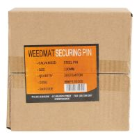 Empak Galvanised Ground Staples for Weedmat 200 pack