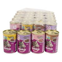 Whiskas Adult Cats Mixed Tins Tray 24 pack