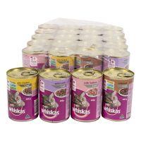 Whiskas Adult Cats Mixed Tins Tray 24 pack