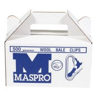 Maspro Bale Clips 500 pack