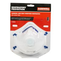 Sanding and Heat Respirator and Valve 2 pack