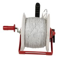 Speedrite Pre-Wound Geared Reel with Poliwire 500 m
