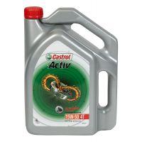 Castrol Activ 4T 4 Stroke Motorcycle Oil 4 L