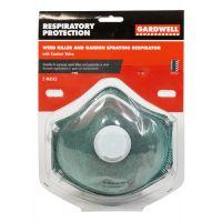 Gardwell Valve Weedkiller Respirator 2 pack