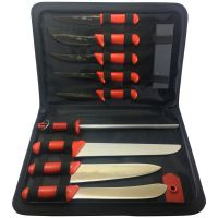 The Rural Butcher 11 Piece Knife Set