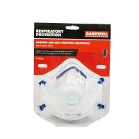 Gardwell Respirator Dust & Sanding Valved 2 pack