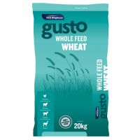 Gusto Whole Feed Wheat 20 kg