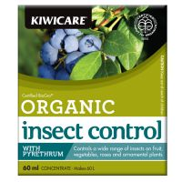 Kiwicare Organic Insect Control with Pyrethrum Concentrate 60 ml 60 ml