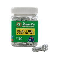 Strainrite Crimp Sleeves Electric 2.50 mm 50 pack