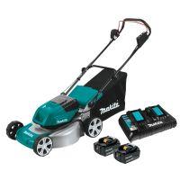 "Makita 18Vx2 (36V) LXT Brushless 460mm 18"" Metal Deck Lawn Mower"